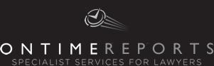 OnTimeReports logo